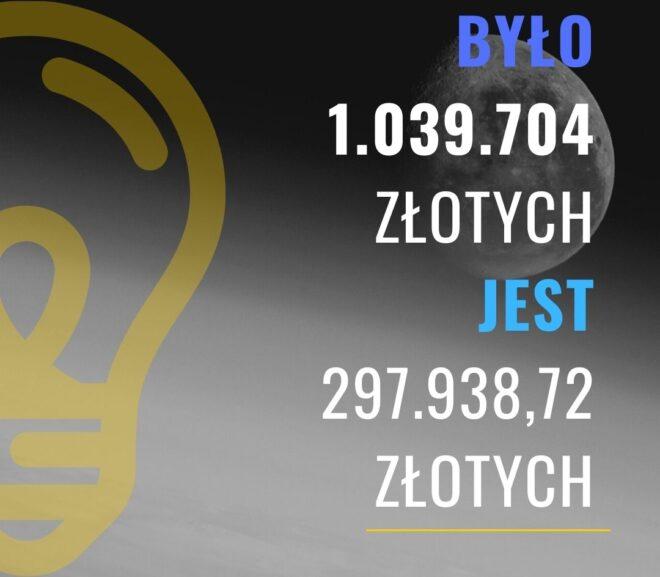 Zmniejszenie długu kredytobiorcy o co najmniej 700 tysięcy złotych.
