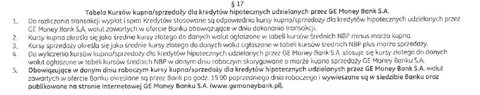 klauzule abuzywne ge money bank4